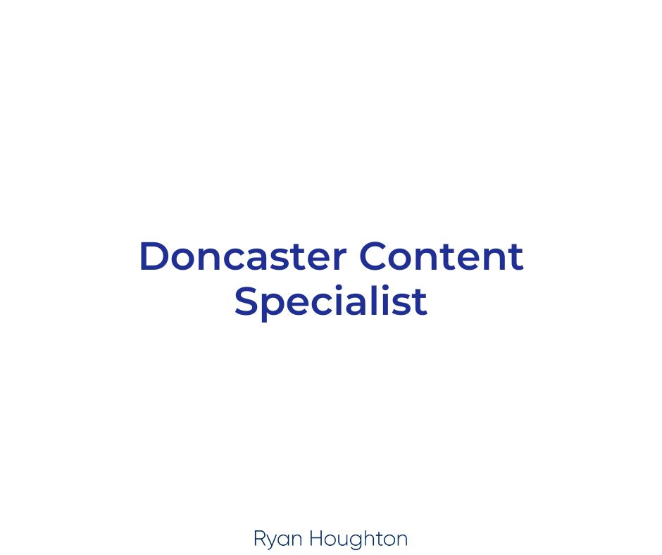 Doncaster Content Specialist