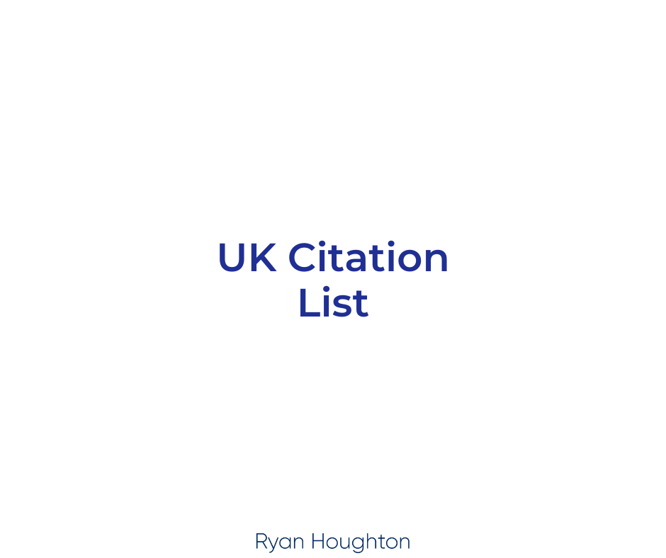 UK Citation List